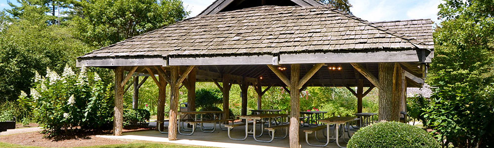 Pavilion and Picnic Areas